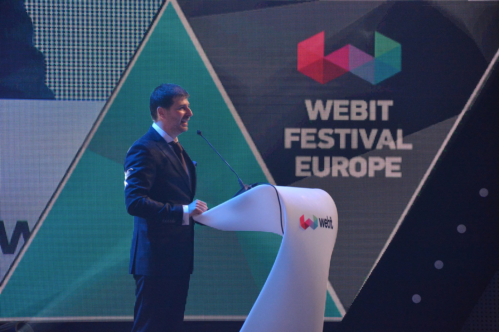 Speaking at WEBIT.FESTIVAL 2017 Official Opening