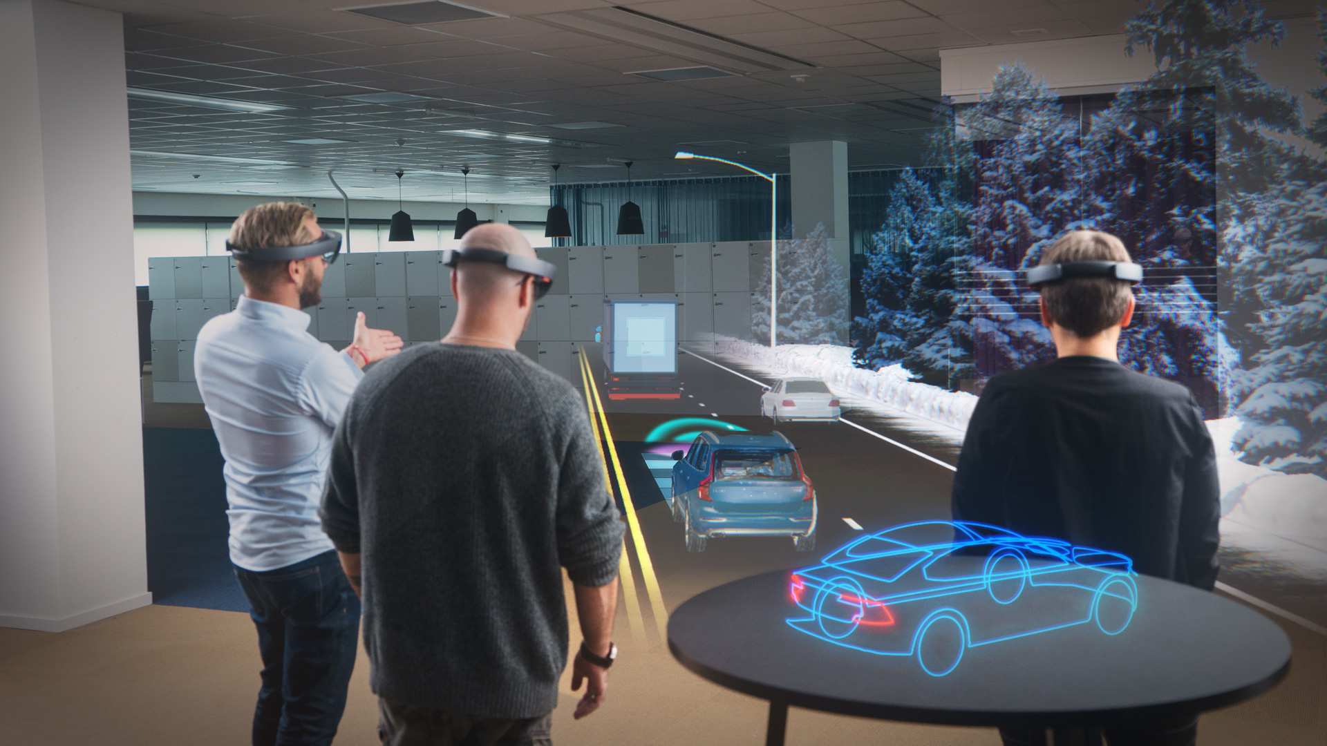 In ten years, all screens will be replaced with glasses and visors. In front of our eyes we will have a whole new reality - a combination of the virtual one and the one we can touch with our hands.